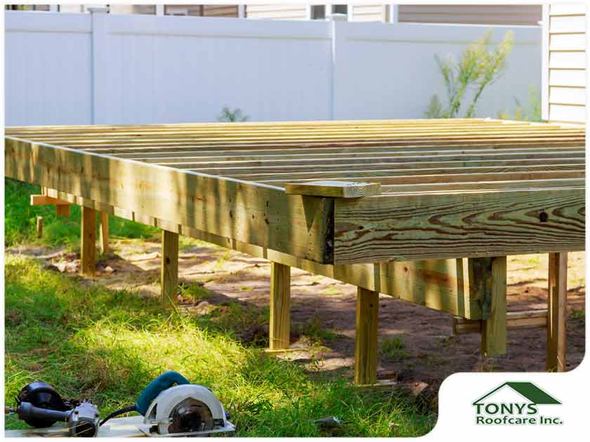What Is Deck Footing?